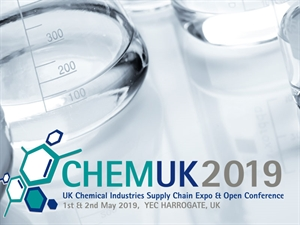 Monarch Chemicals at Chem UK 2019 - The UK's Chemical Industry Supply Chain Expo & Conference
