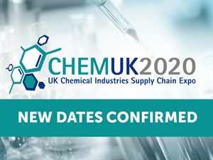 CHEMUK 2020 Postponement due to COVID-19. NEW dates confirmed