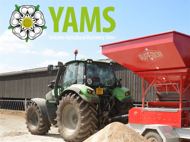 Meet with Monarch Chemicals at YAMS  The Yorkshire Agricultural Machinery Show